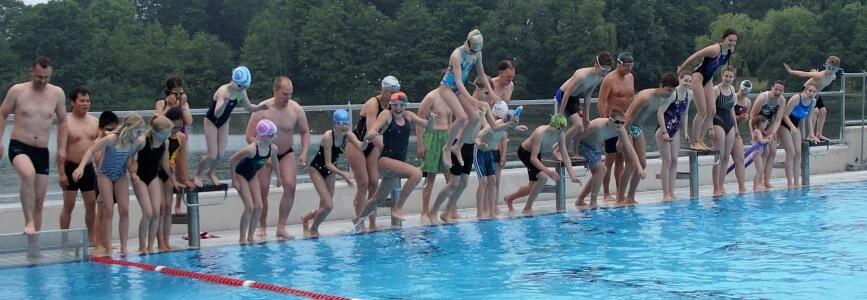 Anschwimmen 2016: Die Sommersaison ist eröffnet