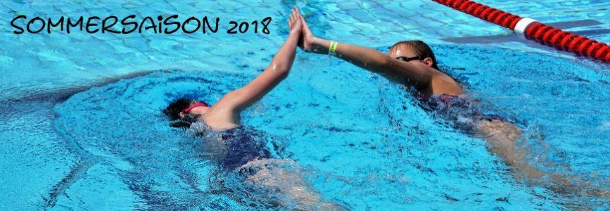 Trainingszeiten Sommersaison 2018 und traditionelles Anschwimmen