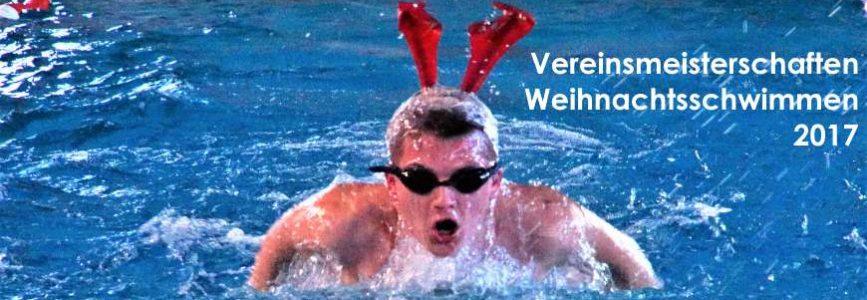 Vereinsmeisterschaften und Weihnachtsschwimmen 2017