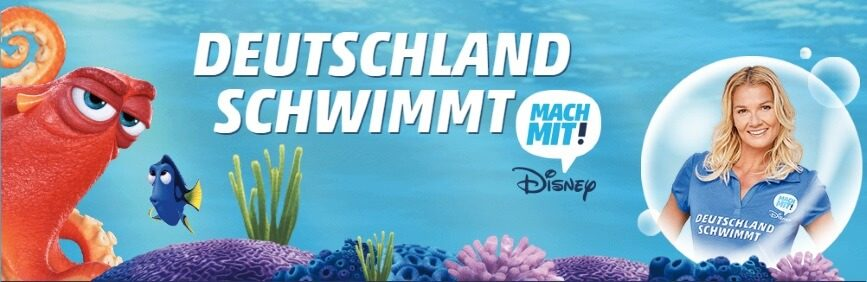 """Aktion """"Deutschland schwimmt"""""""