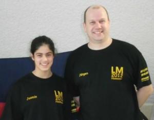 Jasmin + Trainer Jürgen