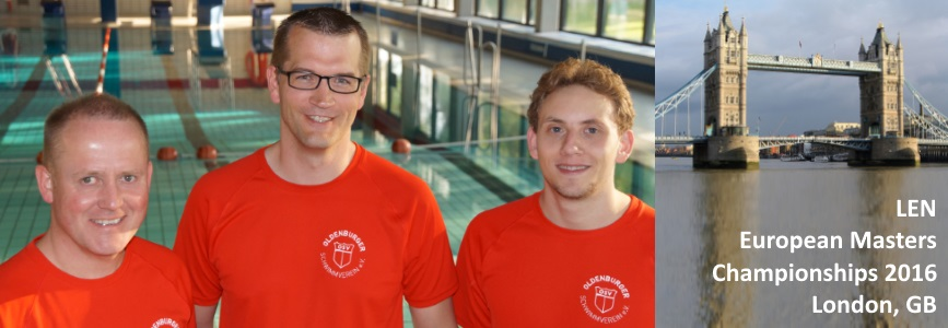 London 2016: Finale – alle drei Schwimmer gehen erneut an den Start