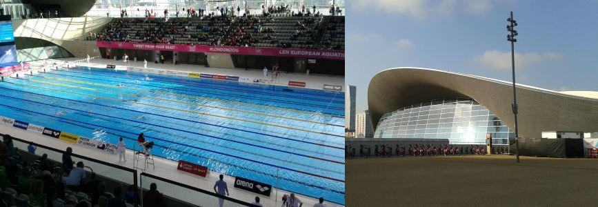 London 2016: Das Wasser im London Aquatics Centre kocht!