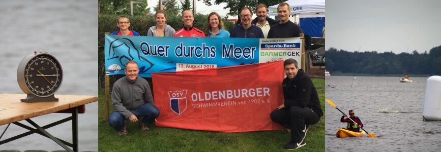 Quer durchs Meer: Oldenburger Schwimmverein stark vertreten