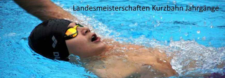 LSN Landes-Kurzbahnmeisterschaften Jahrgänge in Hannover