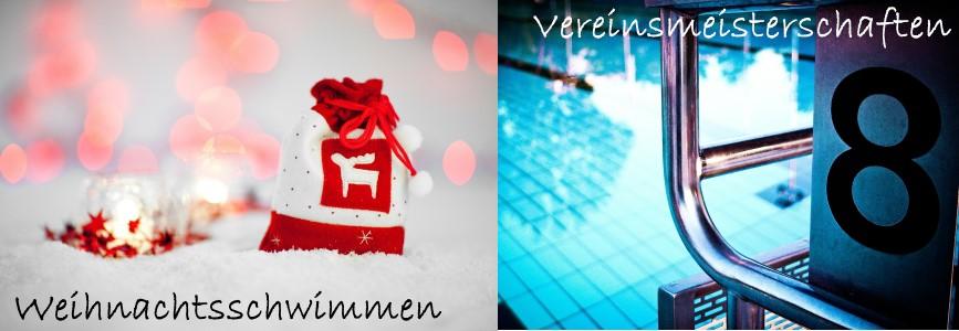 Weihnachtsschwimmen und Vereinsmeisterschaften
